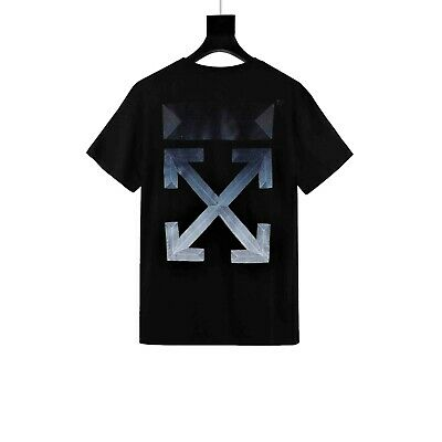 dee9688a Off-White X DSMq Joint limited gradient Embroidery short sleeve T-shirt 3  Color