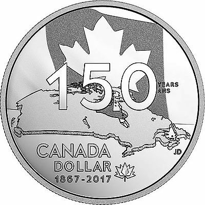 2017 Proof Silver $1 Coin 'Our Home and Nantive Land' .9999 Fine
