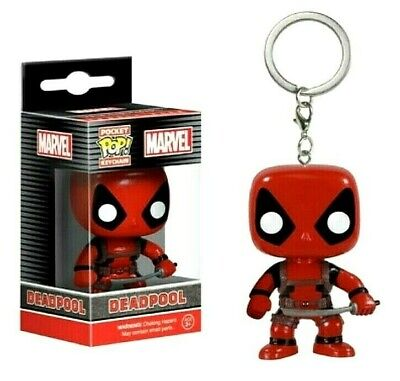 DEADPOOL Funko Pop Keychain Figure Exclusive Venomized Collection Model Toy