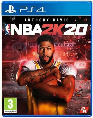 Nba 2K20 Standard Edition Ps4 Videogioco Italiano Copertina Eu Play Station 4