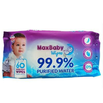 Pure Baby Wipes, 1 Pack water wipes organic wipes for sensitive skin
