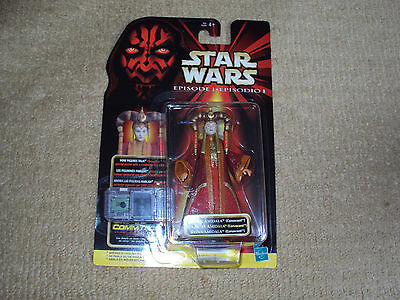 Star Wars Episode 1, Queen Amidala Coruscant, Action Figure, Near Mint