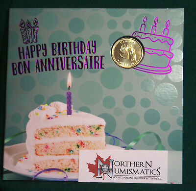 2018 Canada Uncirculated Birthday gift set - IN STOCK - special dollar coin