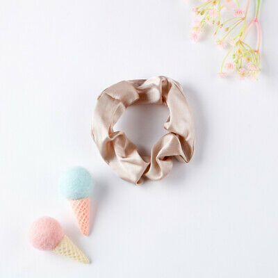 100% Pure Mulberry Silk Hair Scrunchie Charmeuse Hair Accessories Knot Headband