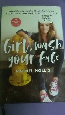 Girl Wash Your Face Book by Rachel Hollis Hardcover NEW