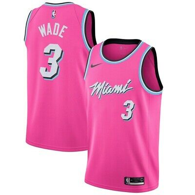 New Dwayne Wade #3 Miami Vice City Edition Replica Jersey- All Colors- All Sizes