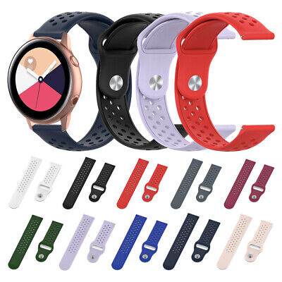 Silicone Bracelet Strap Watch Bands for Samsung Galaxy Watch Active R500 20mm