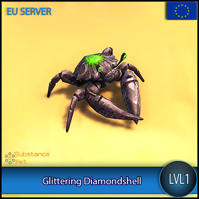 Glittering diamondshell lvl1 Pet BFA | All Europe Server | WoW Warcraft Loot