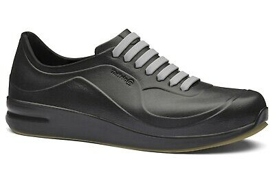 Toffeln Aktiv Flex 220 - Black - Washable Work Shoes