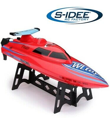 GoolRC GC002 2,4GHz 20km//h High Speed Electric RC Racing Boat Rennboot DE Y0A7