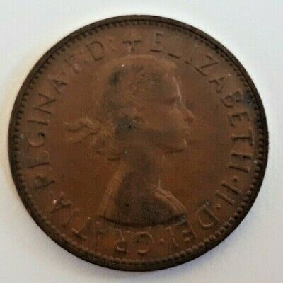 One Penny Coin Elizabeth II (1953-1967) - Pick your Year