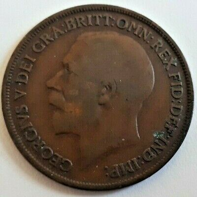 1911-1936 George V. One Penny Coin -choose your year