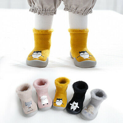 Baby toddler shoes baby girl anti-slip sock shoes soft rubber baby socks Shoes