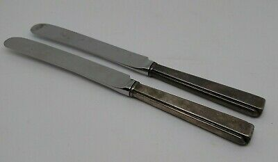 Pair Hess Brothers Allentown Restaurant knives Reed and Barton Mirrorstele