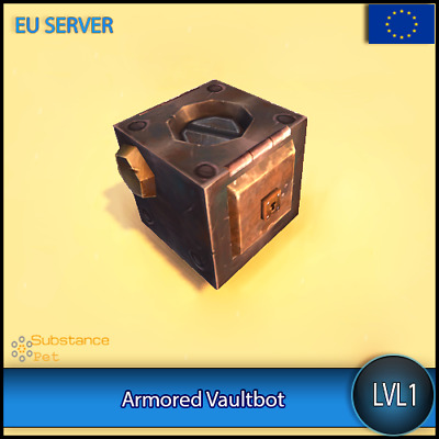 Armored Vaultbot lvl1 Pet BFA | All Europe Server | WoW Warcraft Loot