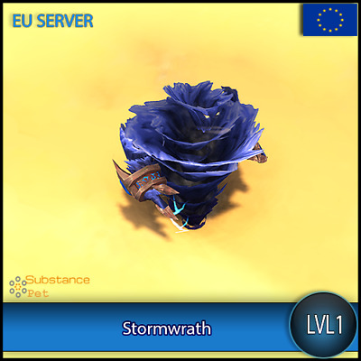 Stormwrath lvl1 Pet BFA | All Europe Server | WoW Warcraft Loot