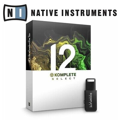 Native Instruments Komplete 12 Select Digital DJ Studio Production DAW Software