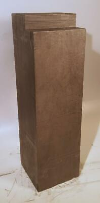 "Nuclear Graphite Block TSX NCCo 6 x 6 x 20 ½"" 46 Pounds #3"