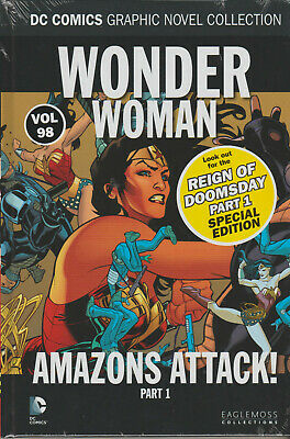 Dc Graphic Novel Collection Volume 98 Wonder Woman Amazons Attack Part 1 - New
