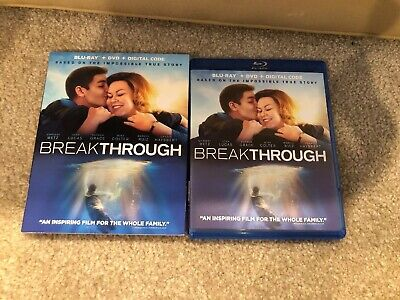 Breakthrough Bluray 1 Disc Set ( No Digital HD)