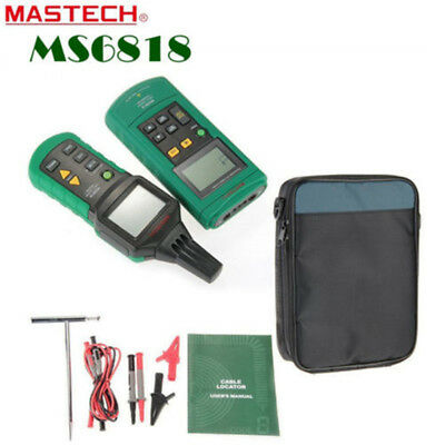 MASTECH MS6818 125KHz Cable Locating Network Wire 12V-400V AC/DC Finder Detector