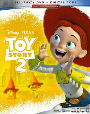 Toy Story 2 [New Blu-ray] With DVD, 2 Pack, Ac-3/Dolby Digital, Digital Copy,
