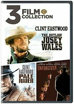 The Outlaw Josey Wales / Pale Rider / Unforgiven [New DVD] 2 Pack, Eco