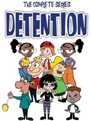 Detention: The Complete Animated Series [New DVD] Manufactured On Demand, Full