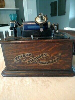 Edison Standard Phonograph Model C In Good Working Condition