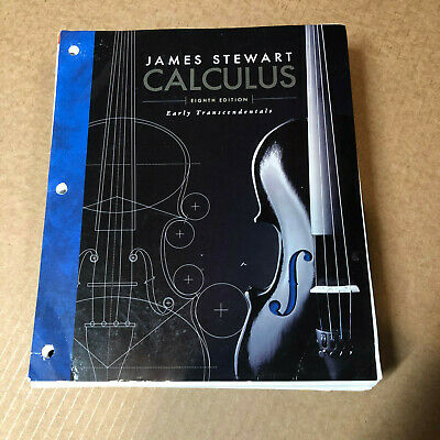 Calculus : Early Transcendentals by James Stewart (Hardcover, 8th Edition, 2015)