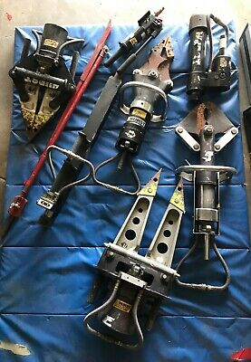 8 pcs Hurst Jaws for Life set....around 400 lbs...priced to sell! ...all or some