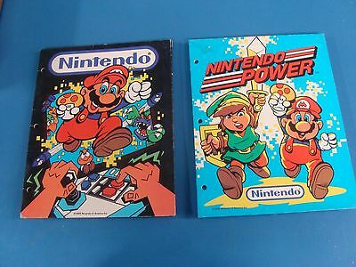 NINTENDO POWER! Folder 1988 Super Mario Collectible Best Condition one in stock