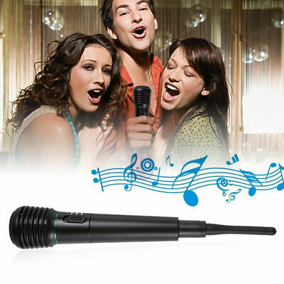 2in1 Handheld Wired and wireless dual microphone Microphone Wired
