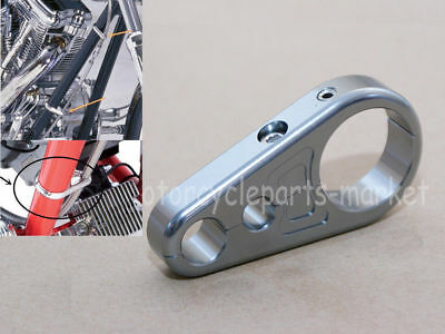 Frame Clutch Cable Brake Line Clamp for 25mm Motorbike Motorcycle Handlebar
