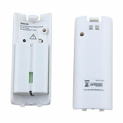 2pcs Rechargeable Battery Pack For Nintendo Wii Remote Controller 2800mAh