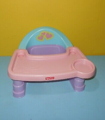 Fisher Price Servin Serving Surprises Doll Booster Seat / High Chair W9953