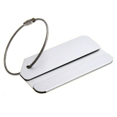 Aluminum alloy address label luggage trailer luggage tag name tag with meta H1C6