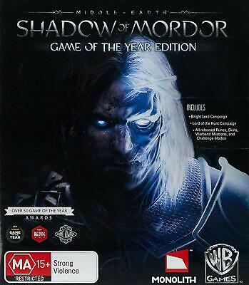 Middle Earth Shadow of Mordor GOTY edition (XBOX ONE) NEW CHEAPEST PRICE