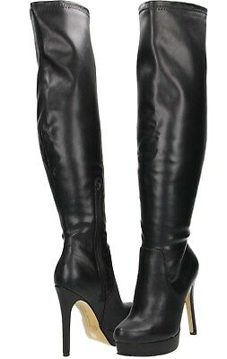 fbb10642830 sexy Over Knee Boots High Heel Stiletto Platform size UK 5.5 /38.5 luster pu