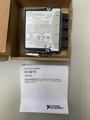 NI-9219 Universelles Analogeingangsmodul der C-Serie Neu National Instruments