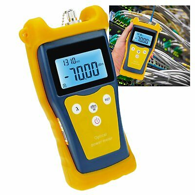 Portable Fiber Optic Power Meter Sc and Fc Connector Tester Wavelength CCTV