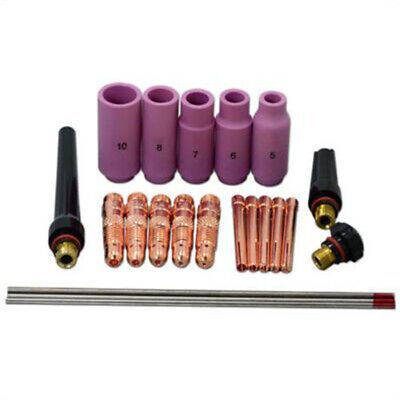 Torch Collet TIG Welding Consumables Cover Body Ceramic Alumina Cup Tungstem
