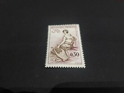 timbre de France  n° 1269 neuf luxe cote 0,50 euro