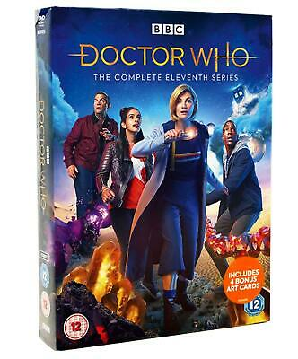 Doctor Who The Complete Series / Season 11 DVD New Sealed UK Compatible