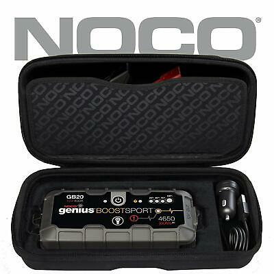 NOCO GB40 GENIUS BOOST LITHIUM-ION BATTERY JUMP STARTER Hard Protective Case