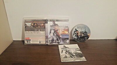 Battlefield 4 (Sony PlayStation 3, 2013) Complete