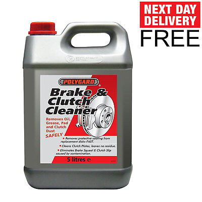Polygard Brake & And Clutch Parts Cleaner Degreaser 5L 5 LITRE 12200A