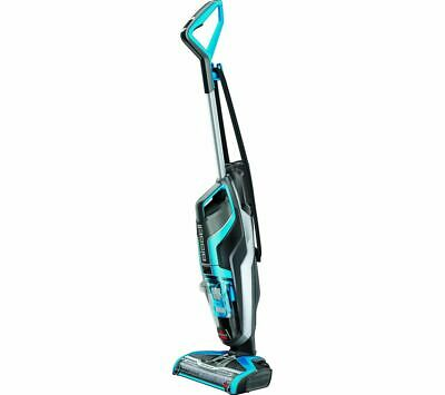 BISSELL CrossWave Upright Wet & Dry Vacuum Cleaner - Titanium & Blue