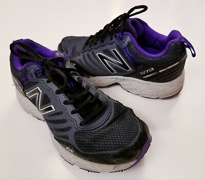 778791a80bdfe New Balance 573 All Terrain Trail Running Shoes Sneakers Womens Size 7 D  Wide