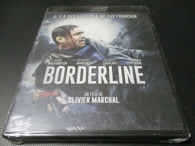 """BLU-RAY NEUF """"BORDERLINE"""" Bruno WOLKOWITCH, Jacques PERRIN / Olivier MARCHAL"""